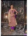 Violet Lawn Cotton Salwar Kameez