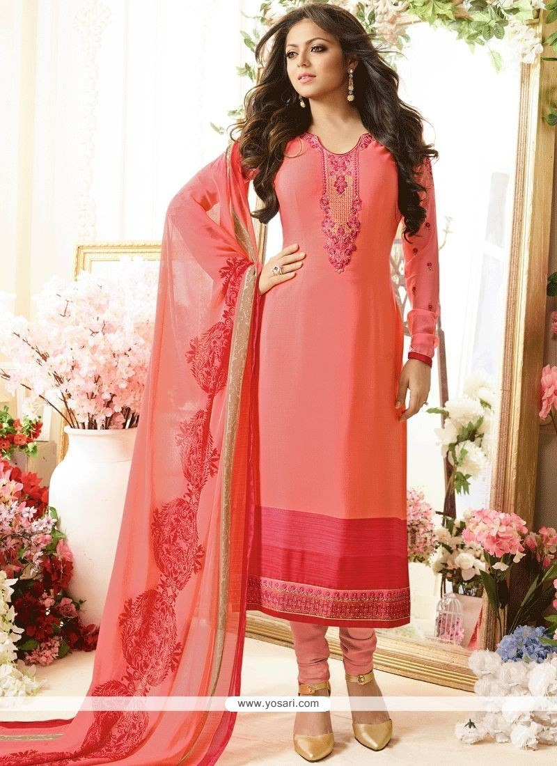 712654fd7e Buy Drashti Dhami Pink Churidar Designer Suit | Churidar Salwar Suits
