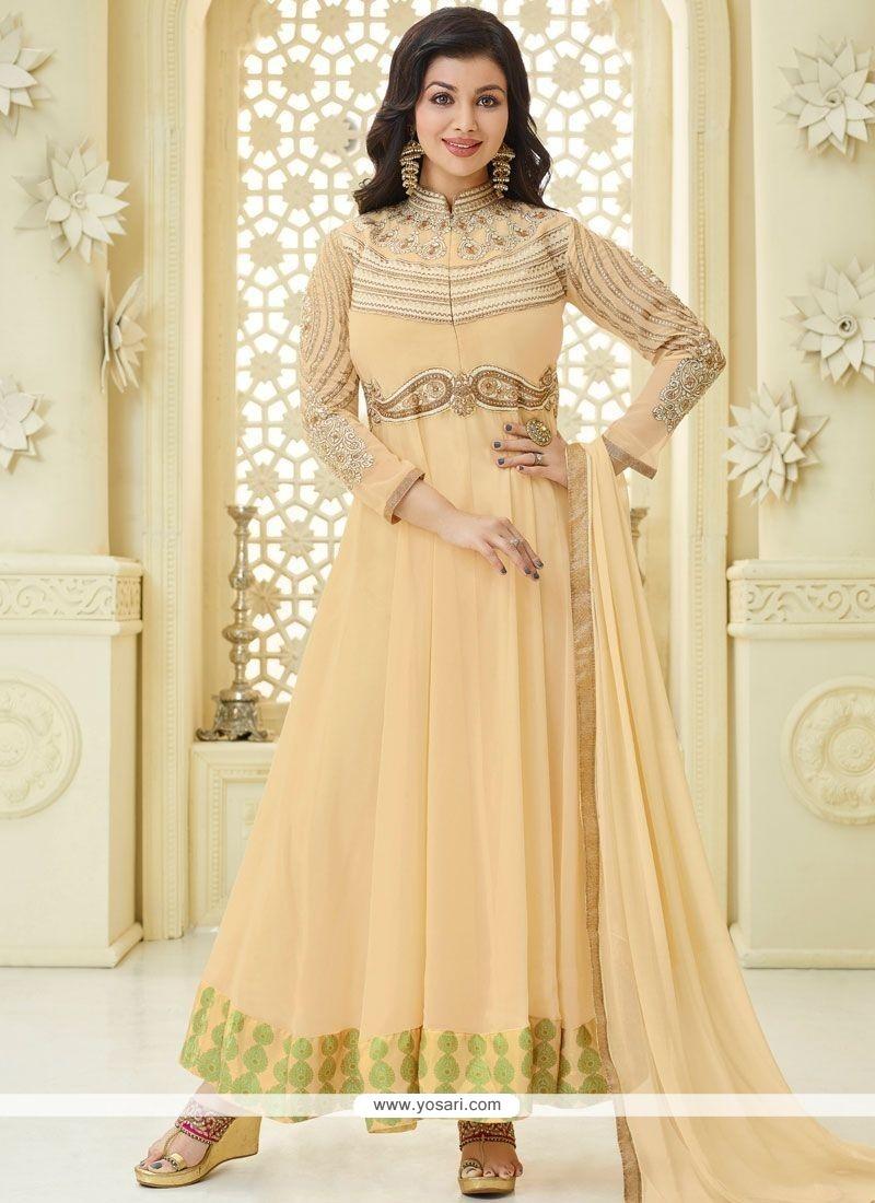 35a5126cb1 Buy Ayesha Takia Faux Georgette Anarkali Suit | Anarkali Suits