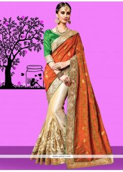 Designer Half N Half Saree For Party