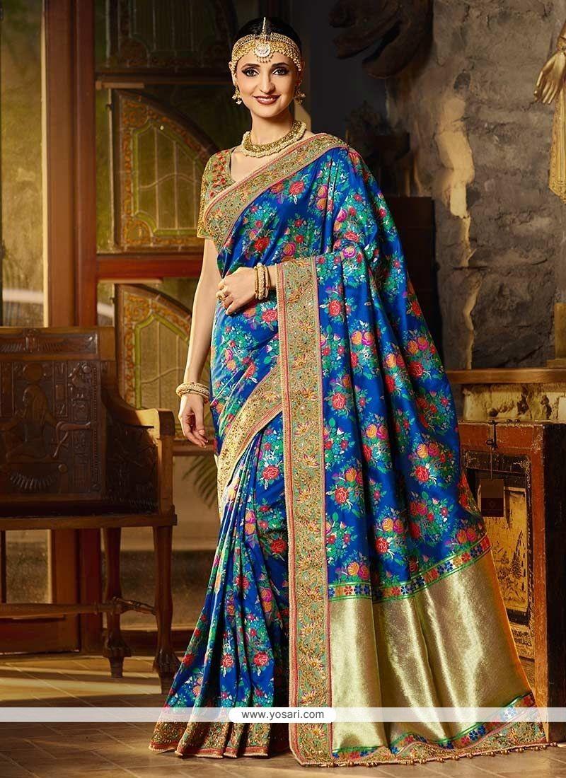 214ec8c39c3c3 Buy Sanaya Irani Banarasi Silk Traditional Designer Saree