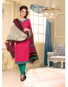 Multicolor Chanderi Salwar Kameez
