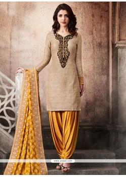 Art Silk Punjabi Suit