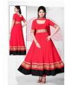 Red Georgette Anarkali Suit