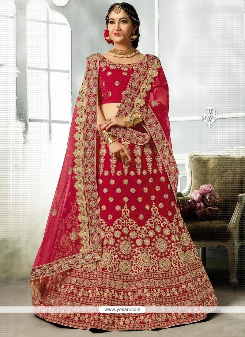 355f458634 Buy Patch Border Work Lehenga Choli | Bridal Lehenga Choli