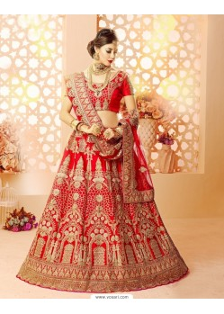 Designer Embroidered Work Lehenga Choli