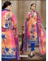 Outstanding Printed Multi Colour Designer Suit