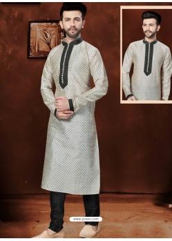 Stylish Off White Kurta Pajama