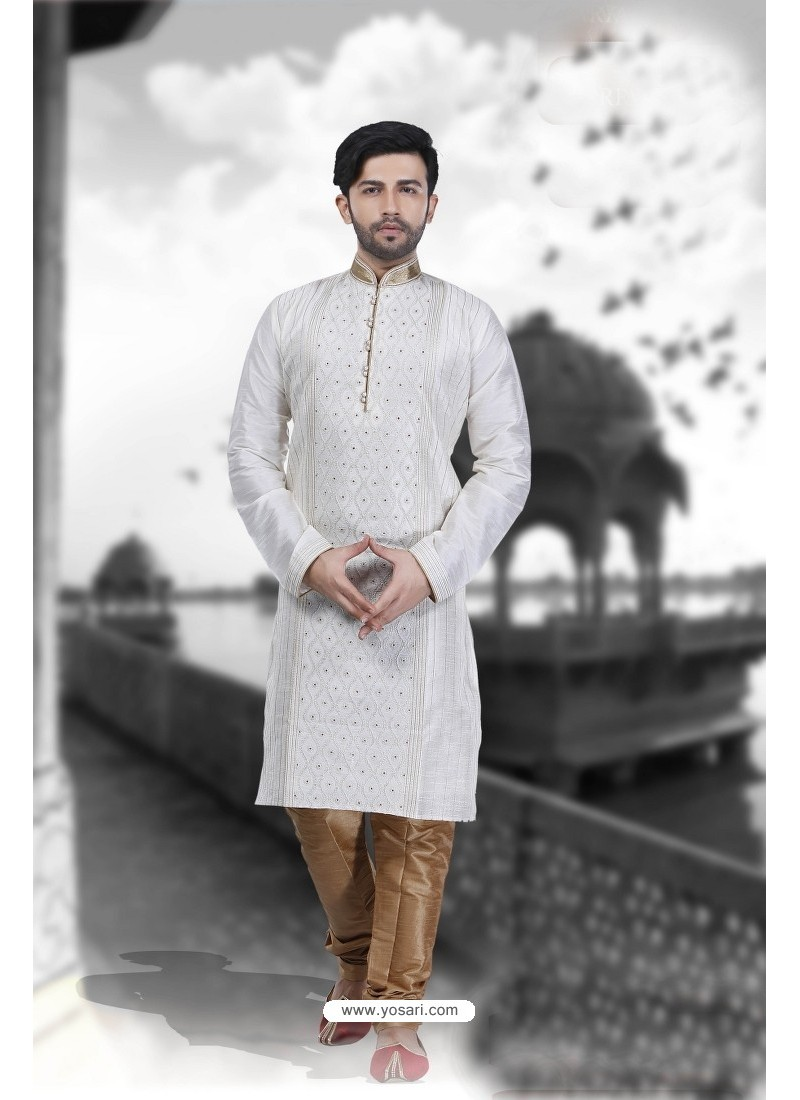 Stylish White Kurta Pajama