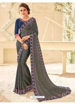 Marvelous Multi Colour Saree