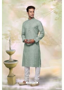 Stylish Olive Green Kurta Pajama