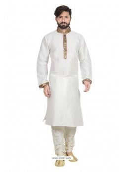 White Designer Kurta Pajama