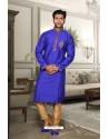 Royal Blue Kurta Pajama
