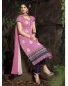 Pink Chanderi Silk Salwar Kameez