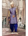 Phenomenal Blue Print Jharna Sherwani