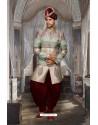 Invigorating Multi Colour Sherwani