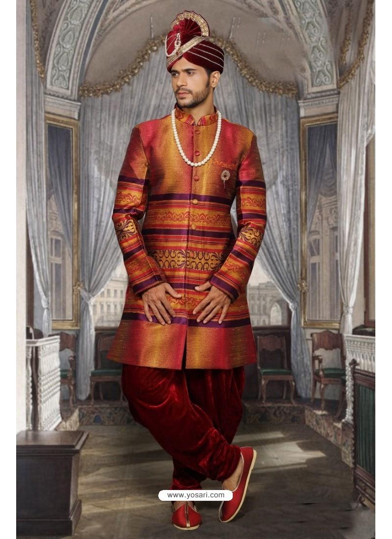 Groovy Multi Colour Sherwani