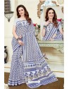 Superb Multi Colour Cotton Saree