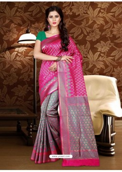 Imperial Rani Patola Silk Saree