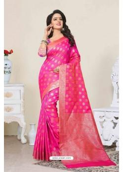 Latest Rani Banarasi Silk Saree