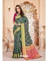 Pleasing Multi Colour Art Silk Saree