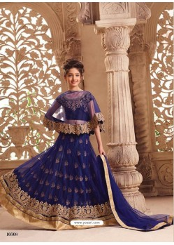 Fabulous Navy Blue Net Lehenga Choli