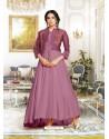 Heavenly Lavender Muslin Gown
