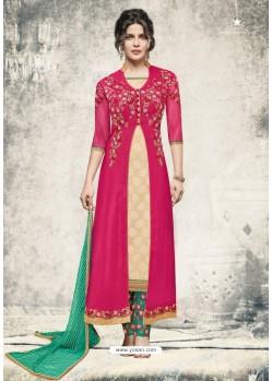 Priyanka Chopra Rani Georgette Suit