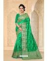 Fab Forest Green Zoya Art Silk Saree