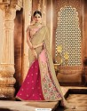 Baby Pink Raw Silk Embroidered Saree