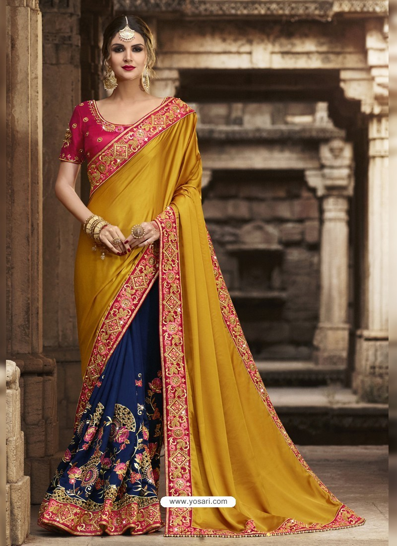 Marvelous Multi Colour Silk Saree