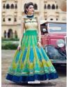 Latest Multi Colour Print Work Gown