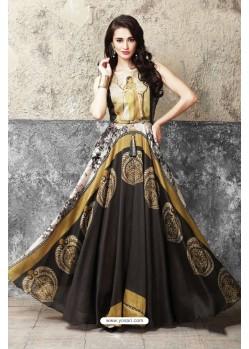 Radiant Multi Colour Cotton Gown