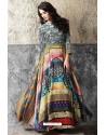 Deserving Multi Colour Muslin Cotton Gown