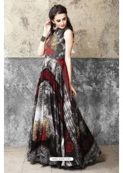 Fantastic Multi Colour Cotton Gown