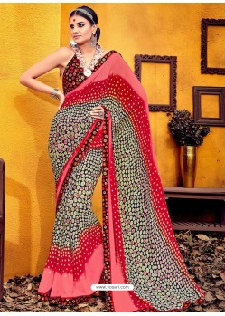 Attractive Multi Colour Weight Less Casual Saree