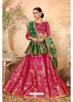 Rani Banarasi Silk Lehenga Choli
