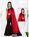 Fab Black Silk Saree