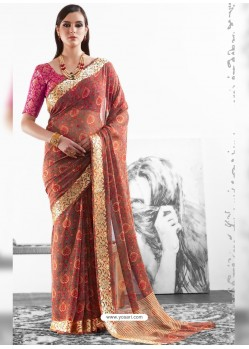 Multi Colour Viscose Saree