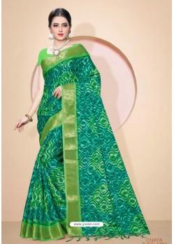 Multi Colour Kota Silk Cotton Casual Saree
