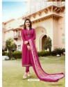 Rani Royal Crepe Embroidered Suit
