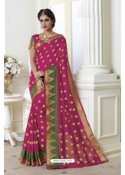Modern Rani Raw Silk Saree