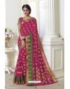 Modern Rani Raw Silk Saree