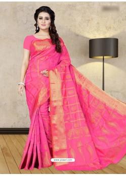 Rani Banarasi Silk Woven Saree