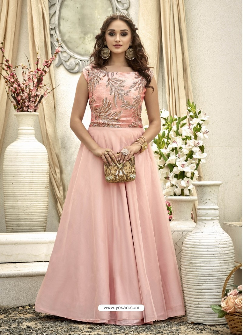 Buy Perfect Baby Pink Gown | Gowns