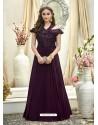 Excellent Deep Scarlet Gown