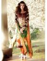 Multicolor Lawn Cotton Salwar Kameez