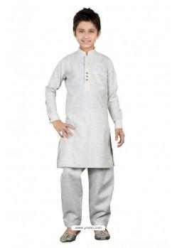 White Linen Cotton Kurta Pajama