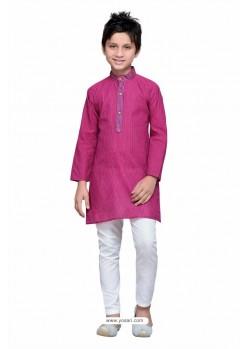 Dazzling Rani Cotton Kurta Pajama