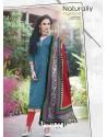 Green Bhagalpuri Silk Churidar Suit